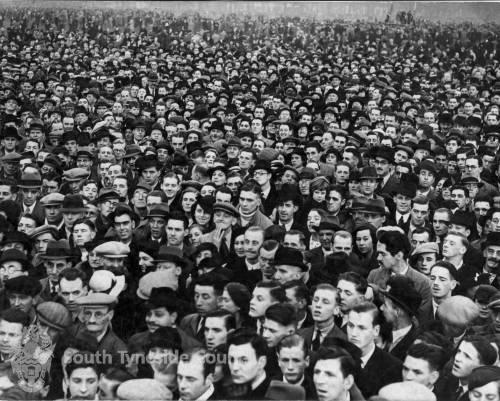 Crowd at Jarrow March