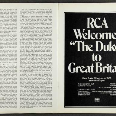Duke Ellington Orchestra British Tour - October 1971 008