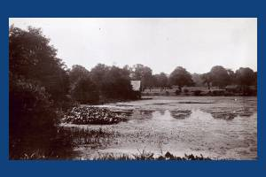 The Lake and  Boat House, Wimbledon Park