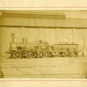 Lazonby 1192 railway engine
