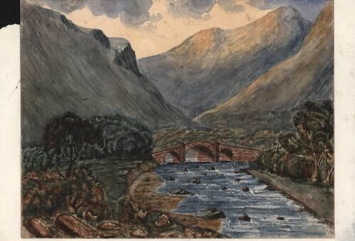 Shaugh Bridge, c1880, Dartmoor