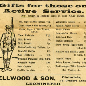 Gifts for those on active service