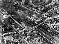 Wimbledon Station, Aerial view