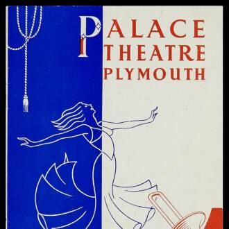 Palace Theatre, Plymouth, October 1952