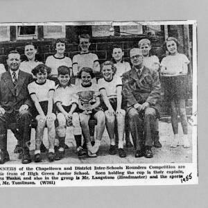 23. Photo, Inter School Rounders Comp. 1955.jpg