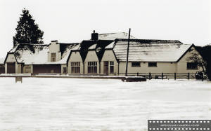 Mitcham Golf Club, mid-winter