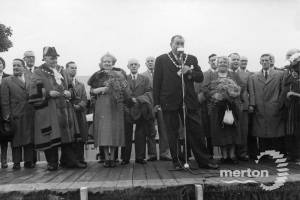 Mitcham Fair opening Ceremony Councillor E Mount the Mayor