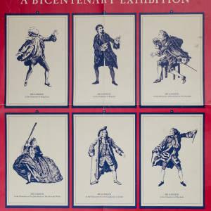 David Garrick Bicentenary Exhibition at the British Library, 20th November 1979 - 11th May 1980