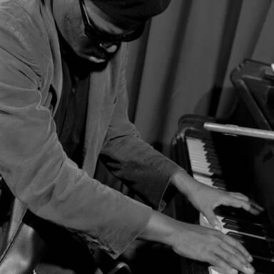 Rahsaan Roland Kirk at the piano