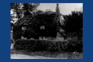 Corner of Central Road and Farm Road, unknown house, Morden