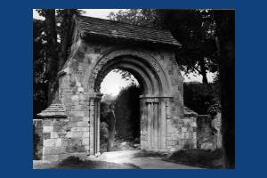 Norman Archway, Merton Priory