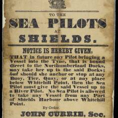 To the Sea Pilots at Shields