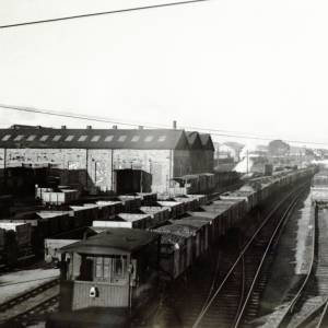 Railway at Hereford, 1961
