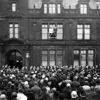 Bootle, Town Hall, Reading of proclamation of King Edward V111, January 22nd 1936.