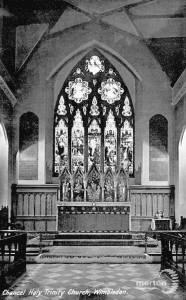 Holy Trinity Church, Wimbledon: interior view
