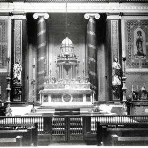 St Francis Xavier Church, interior