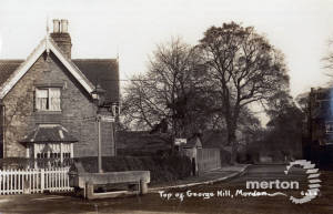 Horse Trough: Top of Central Road &  George Hill, Morden