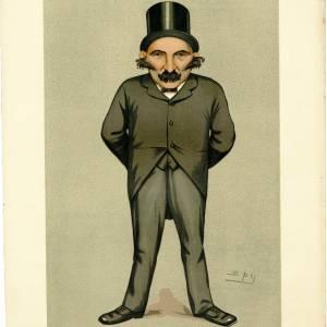 Charles Walwyn Radcliffe Cooke, caricature