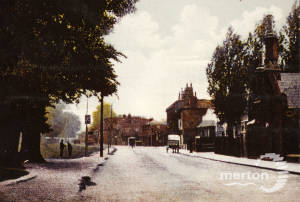 Causeway, Mitcham: Old Houses