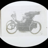 Two seater self-drive motor car