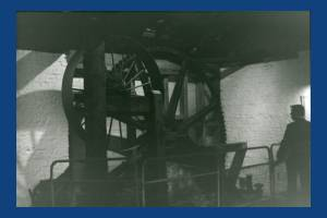 Liberty Print Works: Waterwheel mechanism