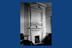 First floor fireplace, Treasurer's Office, Morden Park House, Morden