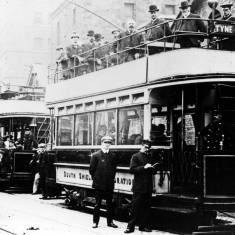 Electric Trams.