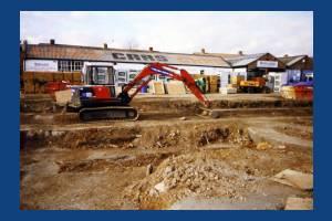 Manor Road, Tamworth Lane, Pollards Hill: Site of Tamworth House Medical Centre
