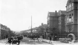 Queens Road, Wimbledon: Children pictured near Queens Road School