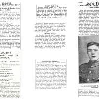 1915, Lance Sergeant Henry Brookes:  information