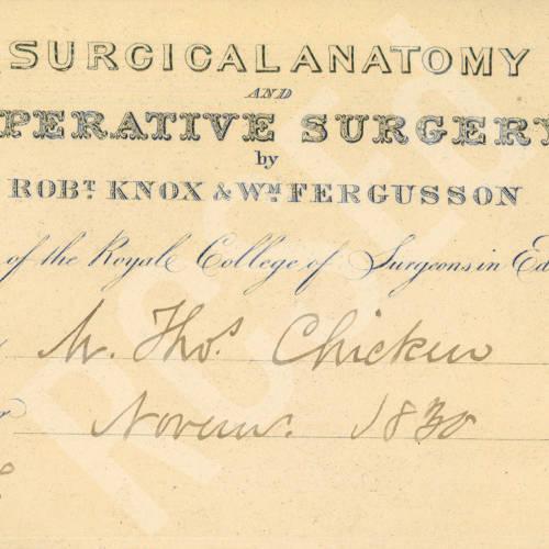 Surgical Anatomy & Operative Surgery