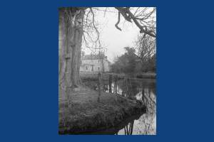 Wandle upstream from Mitcham Bridge
