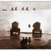 Victorian Beach Bathing Huts