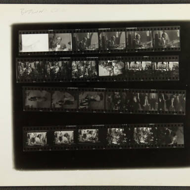 Butlins Jazz Weekend 1956 Contact sheet 004