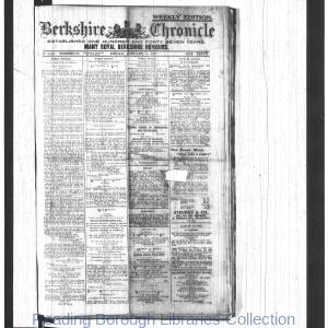 Berkshire Chronicle Reading 1917