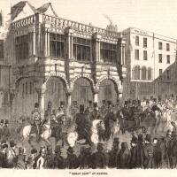 1854 'Bread riot' at Exeter
