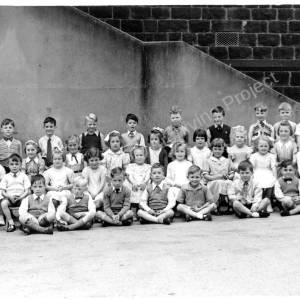 Grenoside School Infant Class c1954