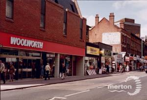 Woolworth's, Broadway, Wimbledon.