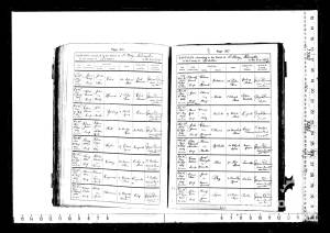 A Howard Baptism Record