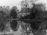 Lake and snuff  mill Morden Hall, Morden