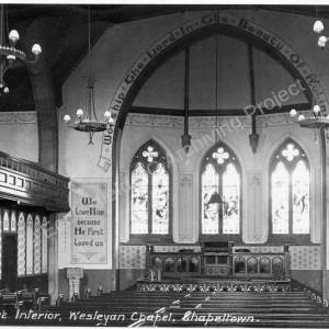 Mount Pleasant Chapel  Interior