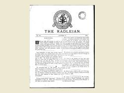 The Radleian 1889 - No.194 October