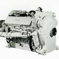 Deltic T18-37C engine: Napier