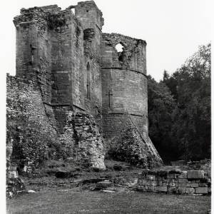 Goodrich Castle, west side