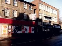 Fair Green, Mitcham: pedestrian way linking Holborn Way and London Road