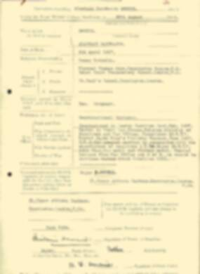 RMC Form 18A Personal Detail Sheets Aug 1935 Intake - page 65