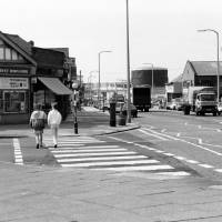 Corner of Aintree Road and Fernhill Road. Bootle. 1987