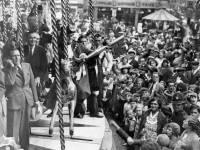 Mitcham Fair opening ceremony Mayor Alderman J Fitch