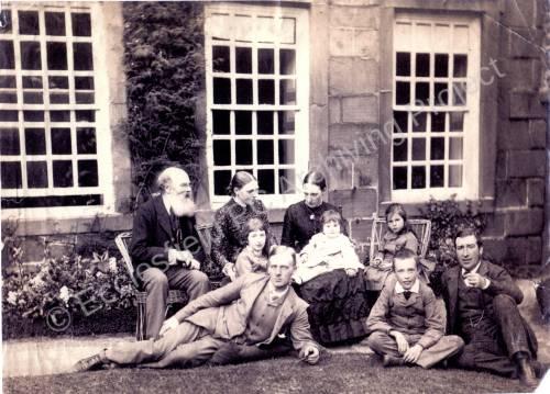 Bingley Family Whitley Hall 1887