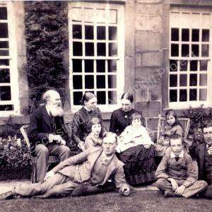Bingley Family Whitley Hall 1887